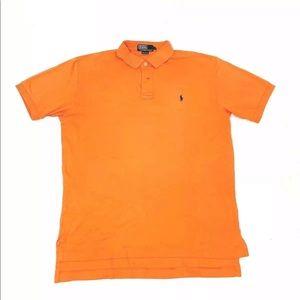 Polo Ralph Lauren Orange Short Sleeve Men's Medium